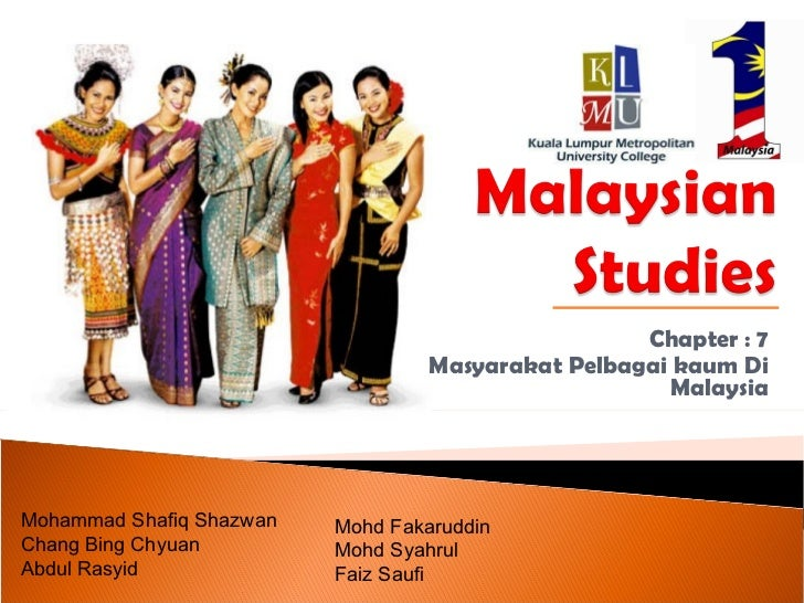 Masyarakat Pelbagai Kaum Malaysia
