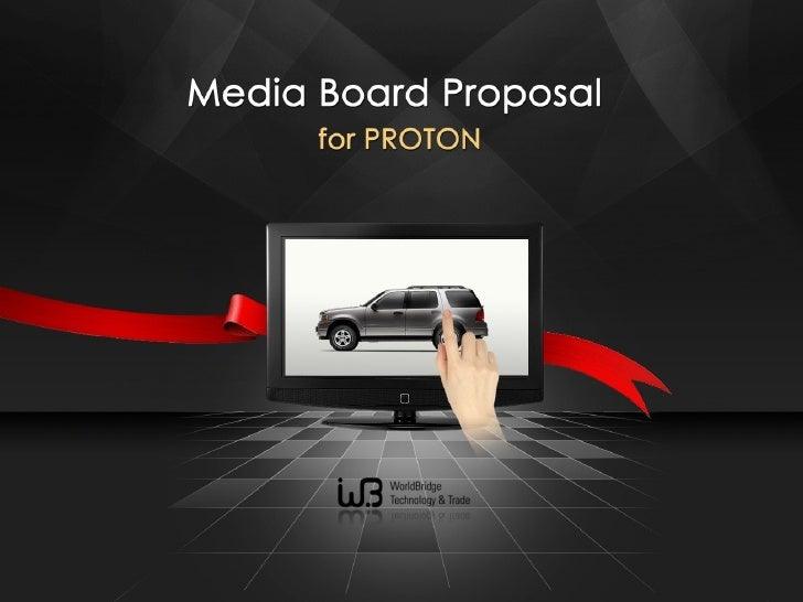 [제안서]Malaysia proton proposal