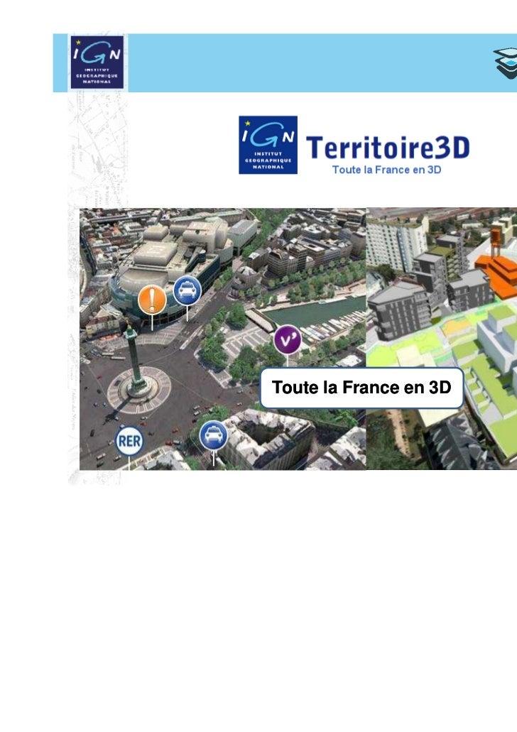 Toute la France en 3D                        1