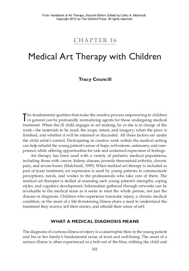 medical art therapy