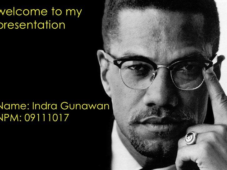 Malcolm X slide