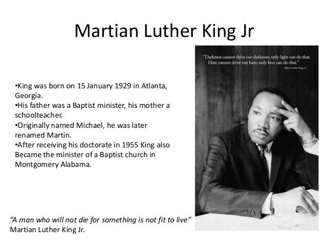 martain luther king jr What you need to know about the national holiday celebrating the civil rights leader.