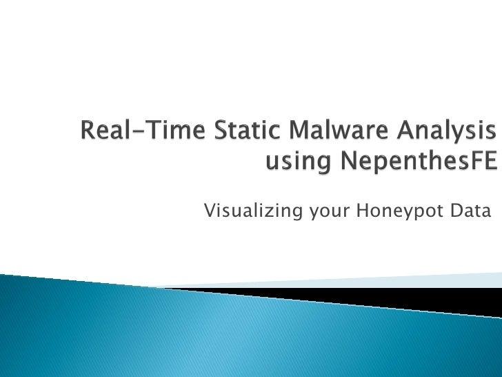Visualizing your Honeypot Data