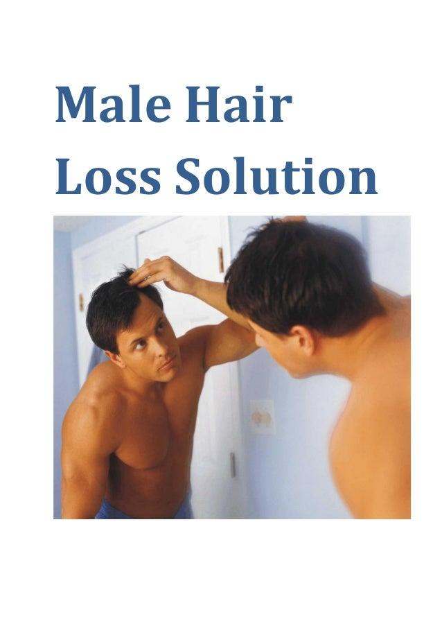 Male Hair Loss Solution
