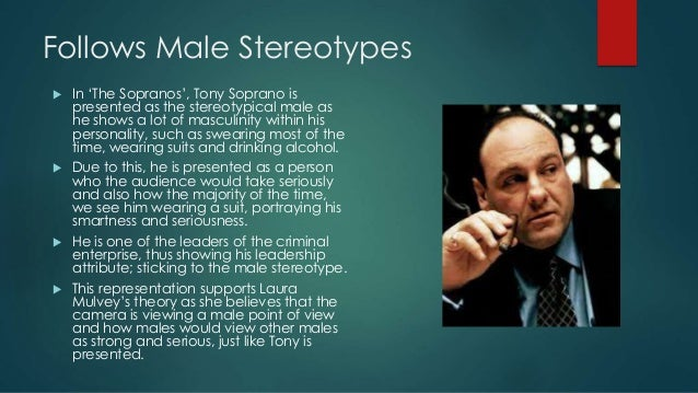 stereotypes males masculinity media