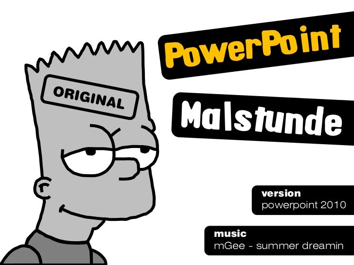 version       powerpoint 2010musicmGee - summer dreamin