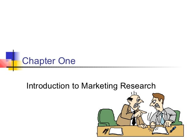 Chapter OneIntroduction to Marketing Research                  vddf               1