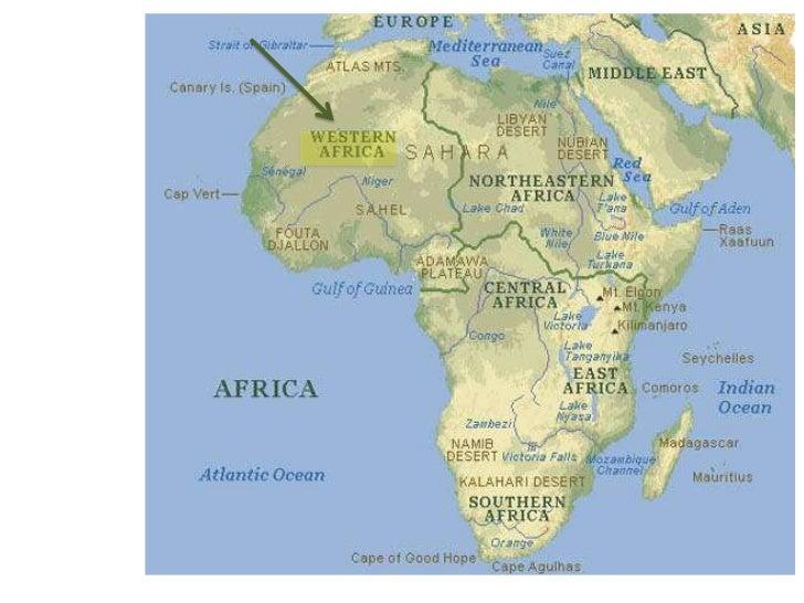 Songhai Map Africa