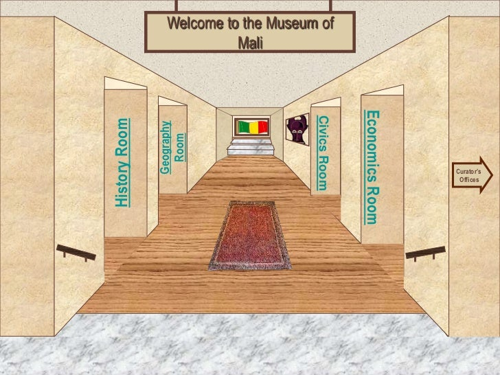 Welcome to the Museum of                           Mali                                                    Economics Room ...