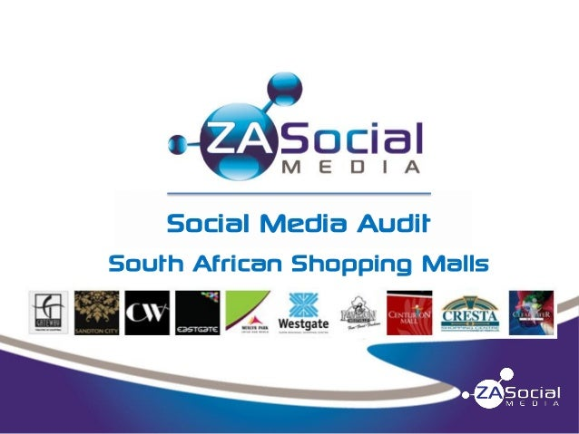 Social Media Audit South African Shopping Malls