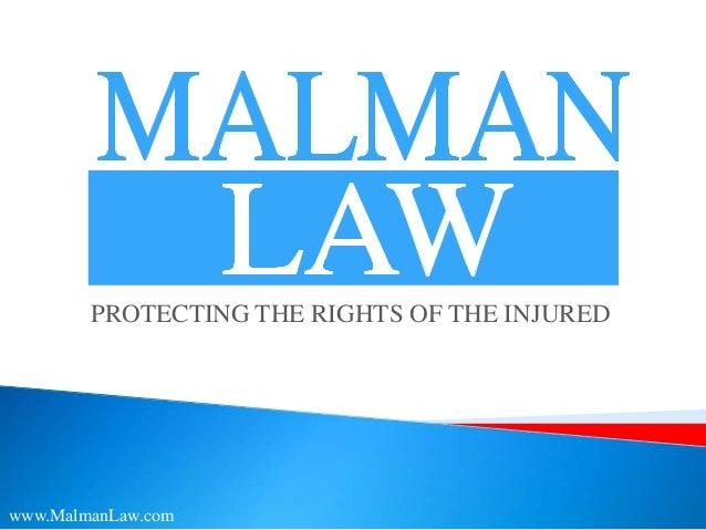 Malman law   nursing home slide share