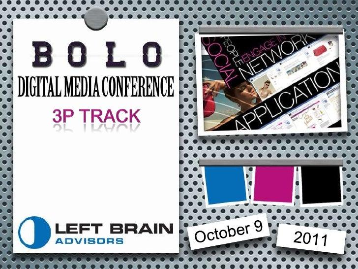 3P Track<br />October 9<br />2011<br />
