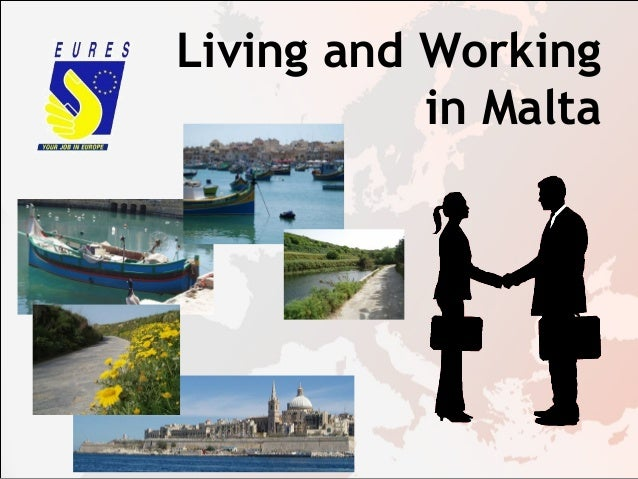 Living and Working in Malta, presented by EURES