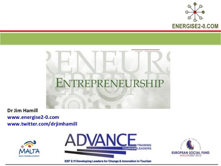 Malta and Gozo Entrepreneurship Module October 2012