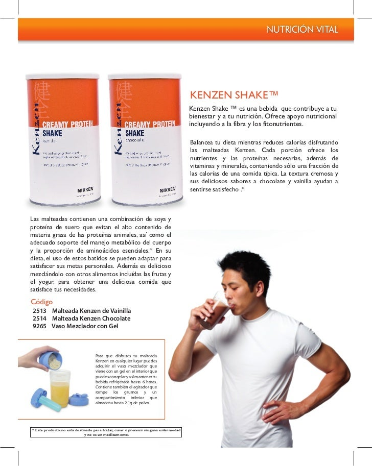 Nutrición Vital                                                                                     KENZEN SHAKE™         ...