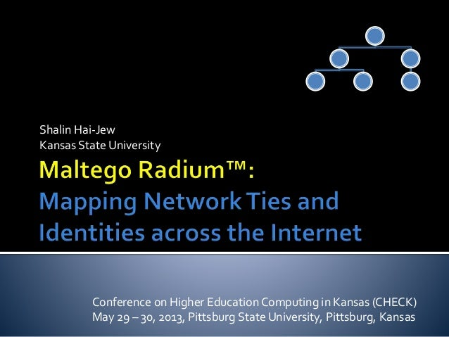 Shalin Hai-Jew Kansas State University Conference on Higher Education Computing in Kansas (CHECK) May 29 – 30, 2013, Pitts...