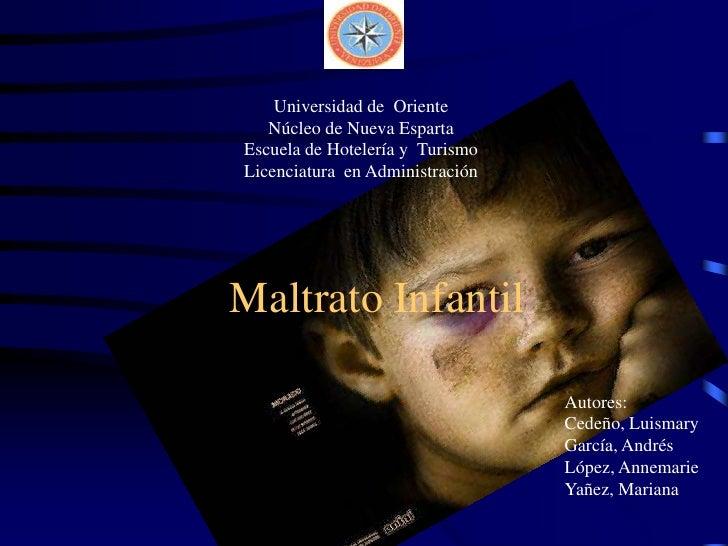 Universidad de  Oriente<br />Núcleo de Nueva Esparta<br />Escuela de Hotelería y  Turismo<br />Licenciatura  en Administra...