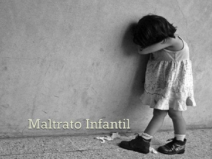 historias de maltrato infantil: