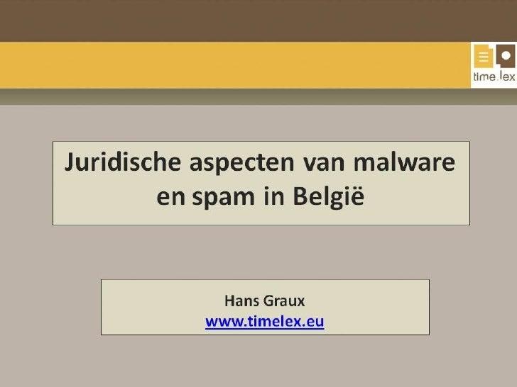 Malware Spam Juridisch Timelex