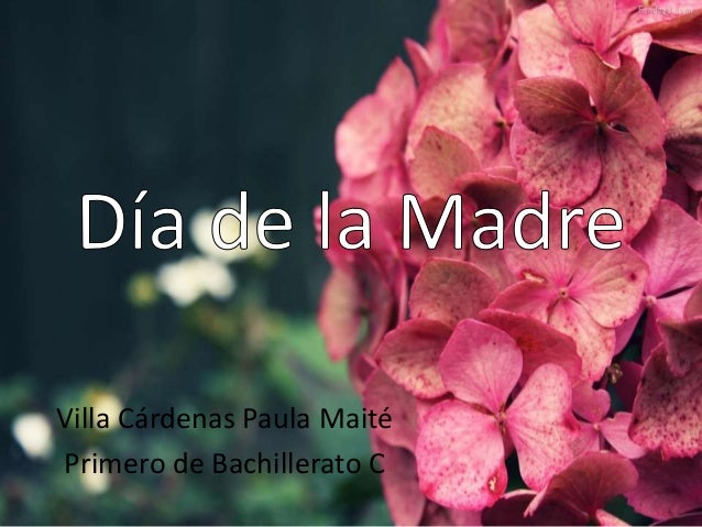Villa Cárdenas Paula Maité Primero de Bachillerato C
