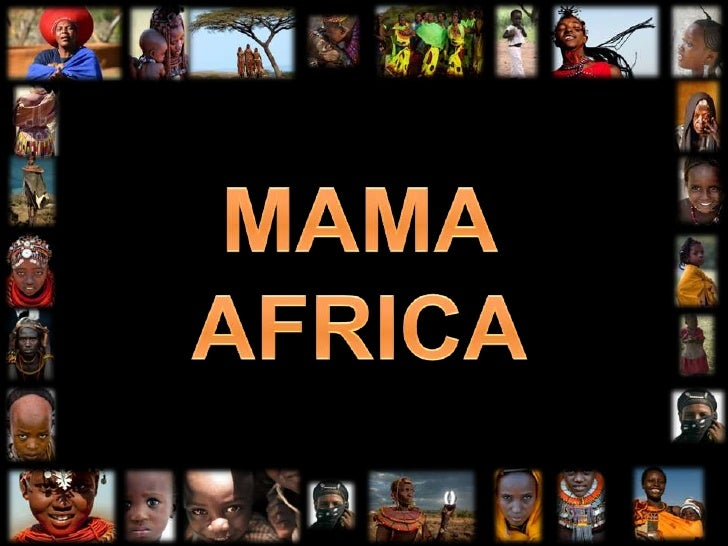 MAMA<br />AFRICA<br />
