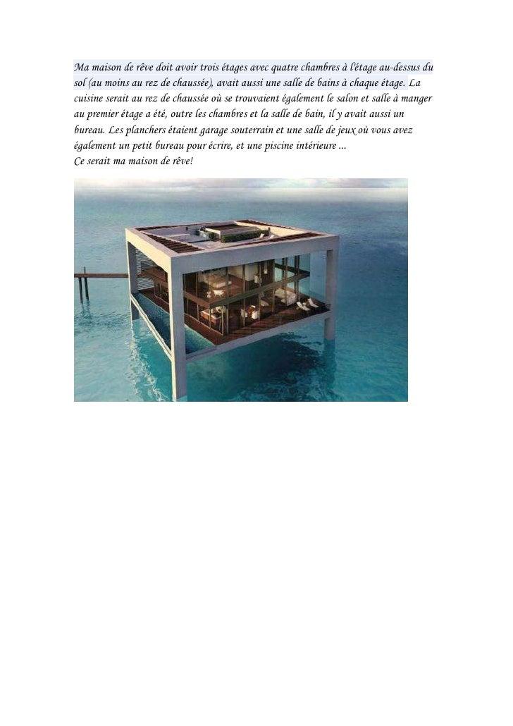 ma maison de reve. Black Bedroom Furniture Sets. Home Design Ideas