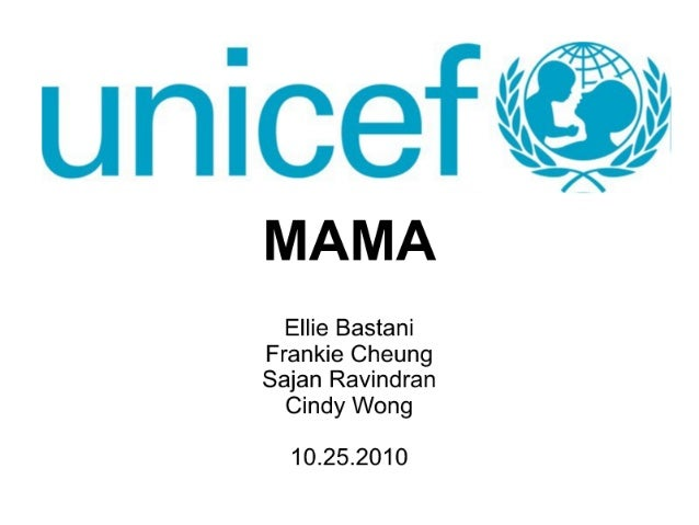 Design for Unicef: Mothers Accessing Medical Assistance