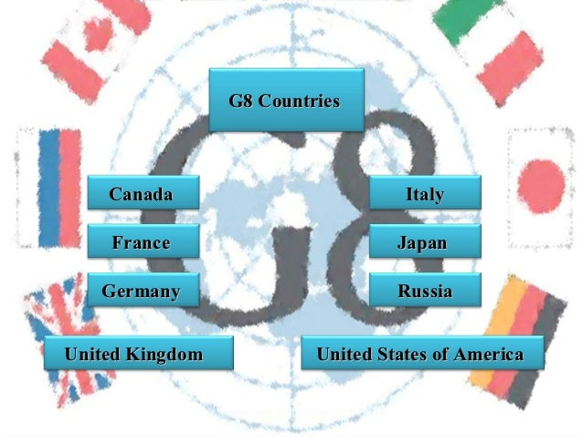 G8: Report on Canada & France