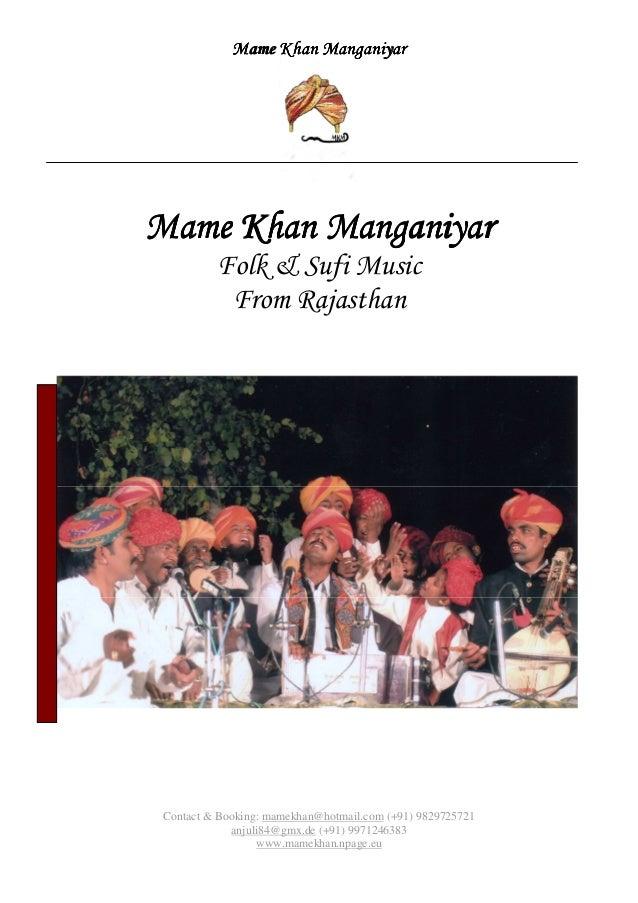 Mame khan manganiyar
