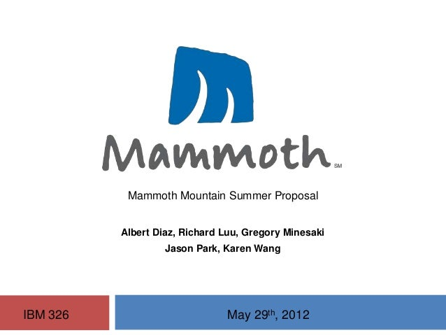 Interactive Marketing Summer Campaign for Mammoth Mountain