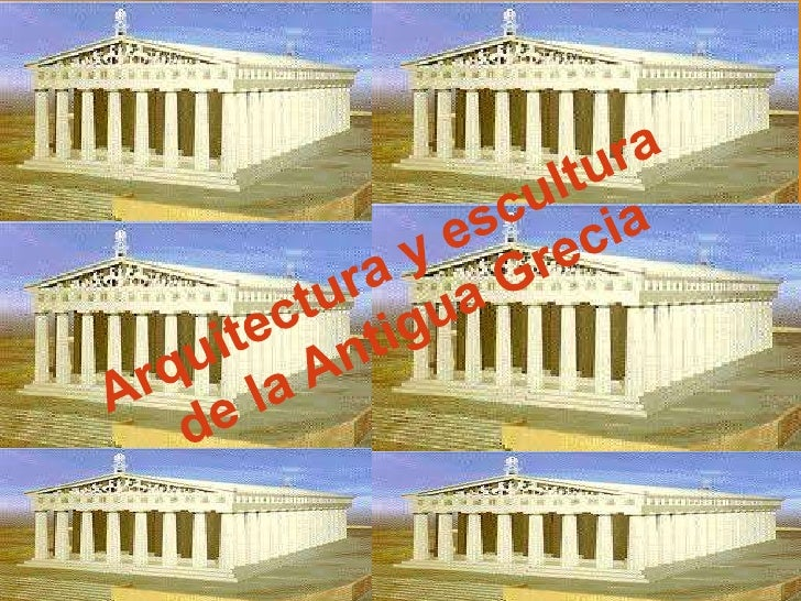Arquitectura y escultura antigua grecia for Arquitectura de grecia