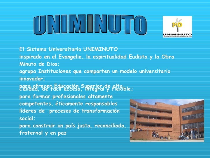 presentacion portales uniminuto