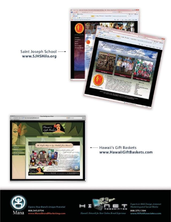 Mana And Hi Net Associates Website Portfolio