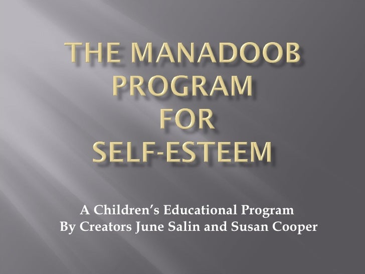 Make a difference in a child's life by teaching The Manadoob Program