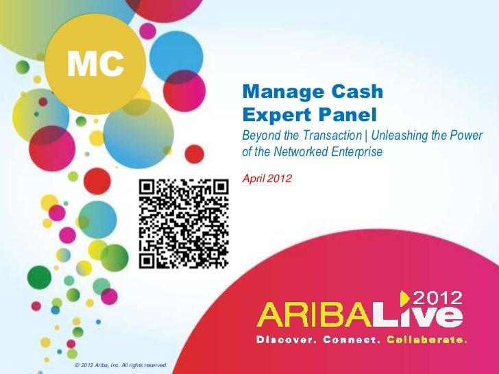 MC                                          Manage Cash                                          Expert Panel             ...