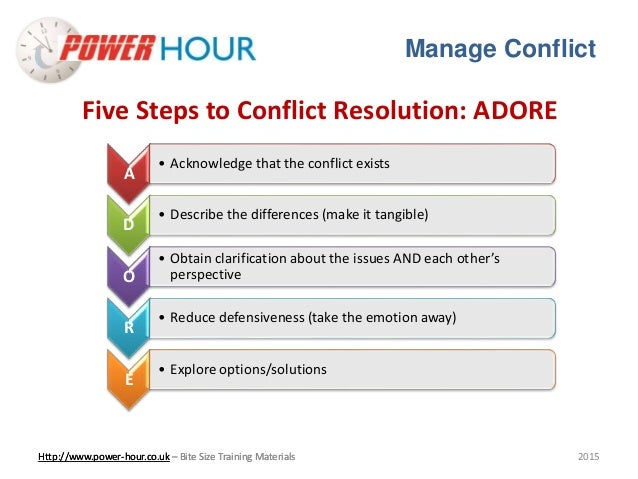 conflict resolution and mediation essay