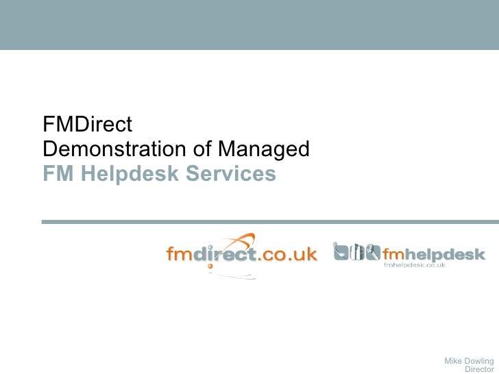 Managed Helpdesk PP Slides 2009