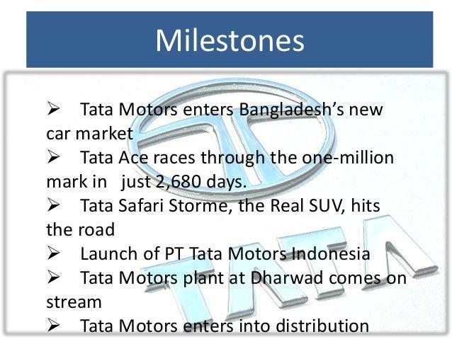 Term paper on change management at tata motors