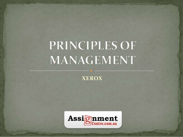 Management | Principles of Management