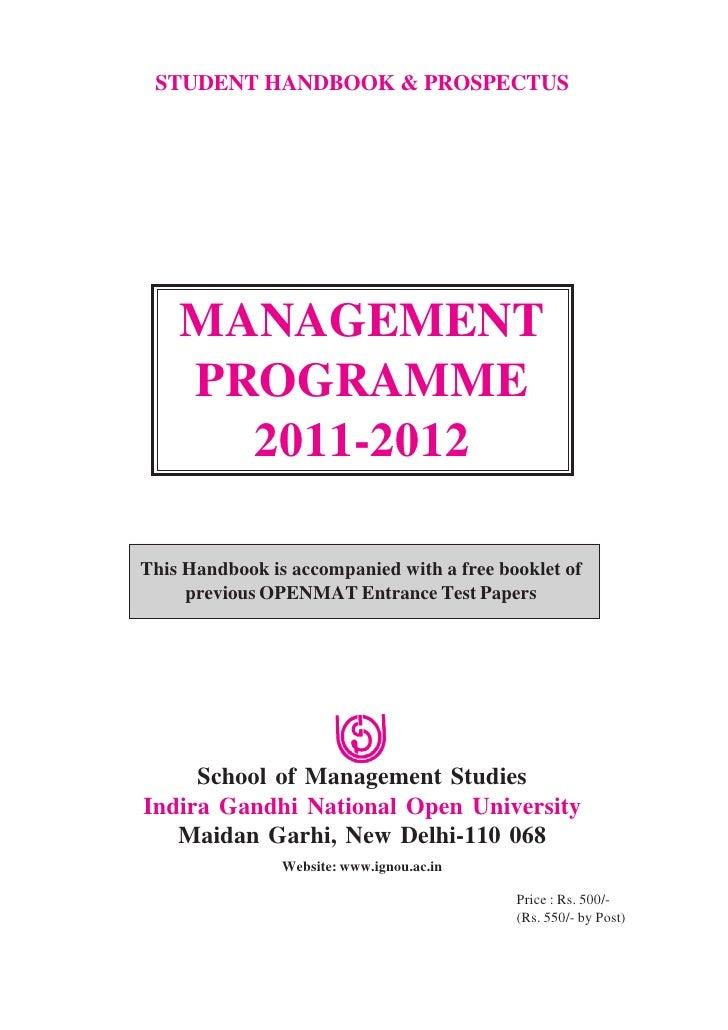 Management 2011-12