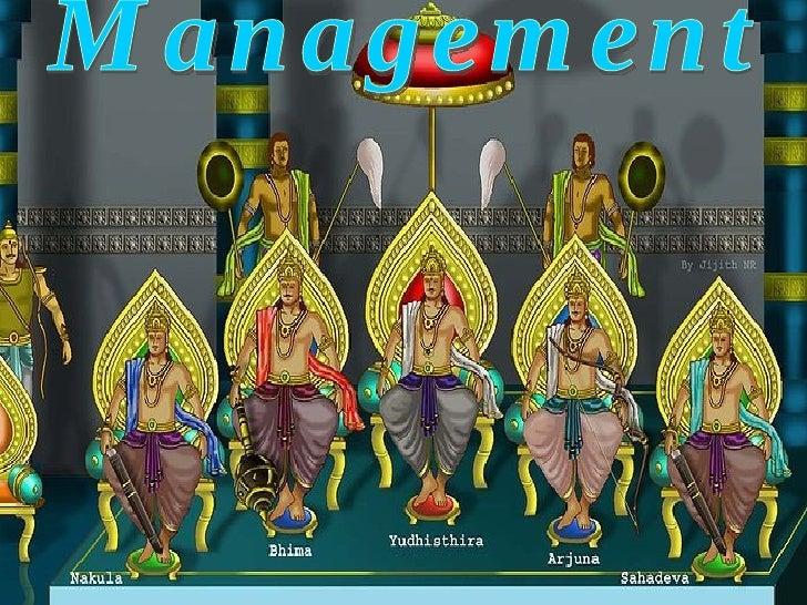 Management - a picturesque
