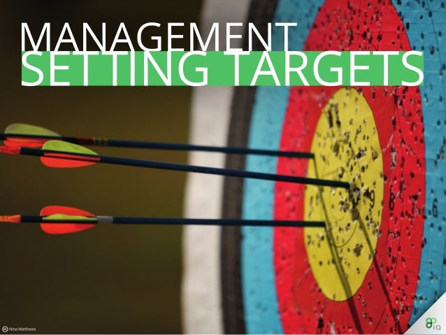 Management: Setting Targets