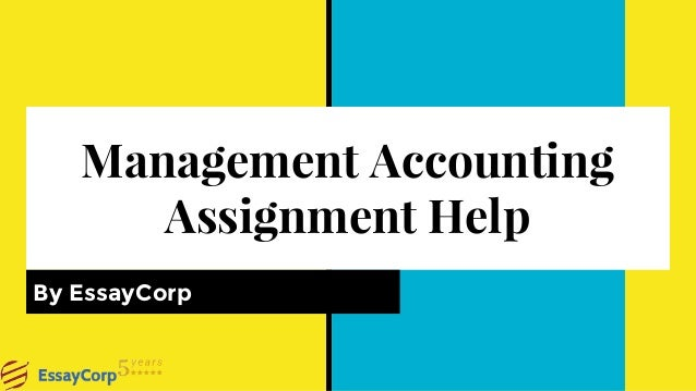 Accounting photography assignment answers