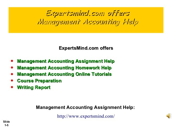 managerial accounting essay topics
