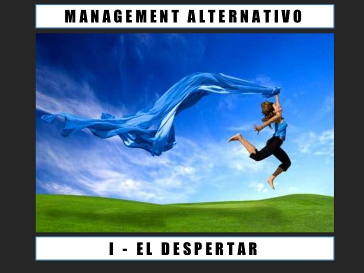 MANAGEMENT ALTERNATIVO    I - EL DESPERTAR