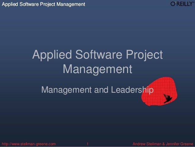 Applied Software Project Management                Applied Software Project                      Management               ...