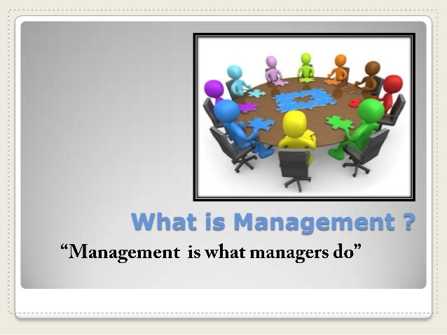 What is Management ?