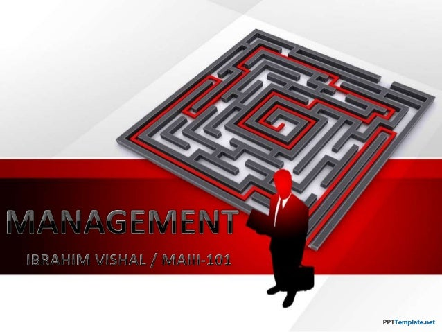 Business Management by - Ibrahim Vishal - MV