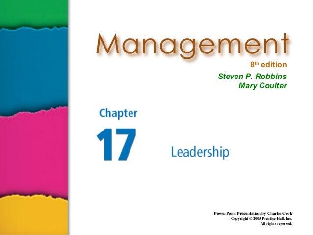 Management ch17