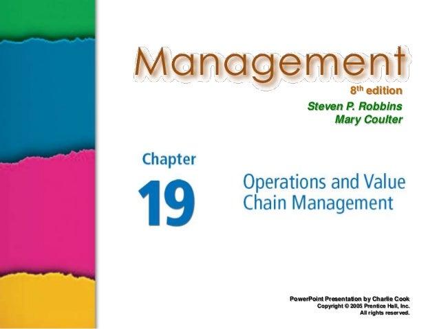 Management ch19